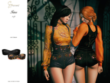 S&P Irina top black (wear to unpack)