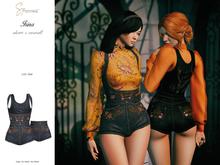 S&P Irina overall & shorts raw (wear to unpack)