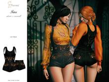 S&P Irina overall & shorts black (wear to unpack)
