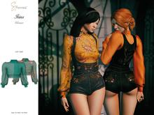 S&P Irina blouse teal (wear to unpack)