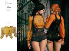 S&P Irina blouse mustard (wear to unpack)