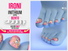 INITHIUM FOOT & FEET ::: NAIL & NAILS ::: ACCESSORY & ACCESSORIES