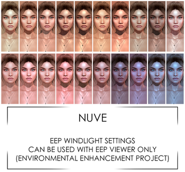 Nuve. Windlights - EEP