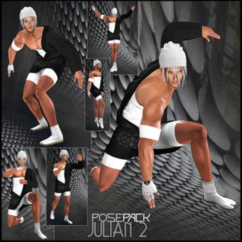.:F L O Y D:.Julian Pose Pack 2