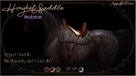 :AppyBottoms: Hmykel Saddle - arabian