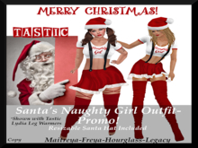 Tastic-Santa's Naughty Girl Outfit-PROMO!!!