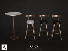 Architect. Sanz Bar Set (bronze)