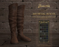 +Dreamcatcher+ Medieval boots - Male