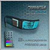 [Bluecross]  PARAGON Visor w/color HUD