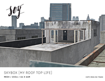 Soy. Skybox [My Roof Top Life] addme