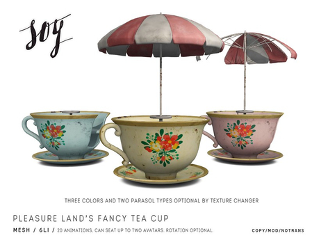 Soy. Pleasure Land's Fancy Tea Cup [addme]