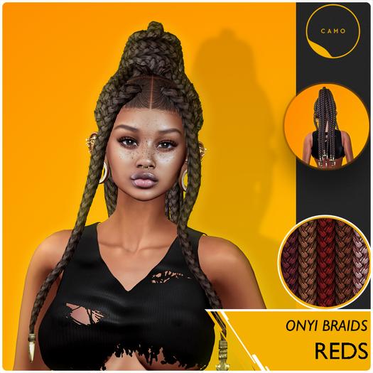 CAMO - Onyi Braids - Reds