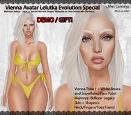 :: Miss Canning ::[ Vienna Avatar Lelutka Special] DEMO/GIFT!