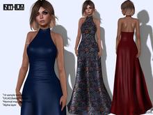 byCrash Full perm mesh-Halter neck dress KUPRA ONLY