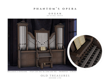 OLD TREASURES - PHANTOM'S OPERA - Pipe Organ (wear me)