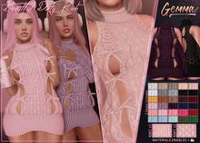 *B.D.R.* Gemma -Dress- / 2 knit styles included.