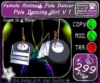* Dancing Pole Girl  * V 1 * Animated *