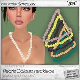 *JA* colours pearls necaklce
