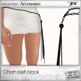 *JA* chain belt black