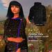 En Yo! Starry Sky Sweater/Jacket w/ Blue Trim for Maitreya
