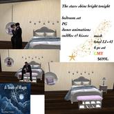 The stars shine bright tonight bedroom set PG-BOX