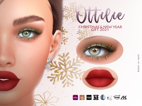 OTTILIE - Christmas & New Year Make-up GIFT 2021