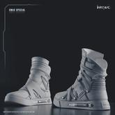 [DustyHut] GoLink Sneakers - NorthWhite [LINKRAVE LINE] - v1.0