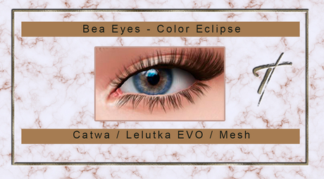 Tville - Bea Eyes *eclipse* for Catwa and Lelutka EVO