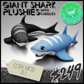 /// CHI /// Giant Shark Plushies