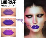 Landgraff - Anisha Lipstick (Lelutka Evo HUD)