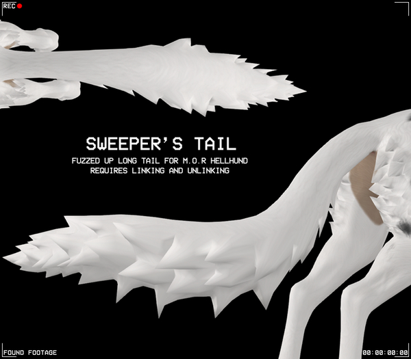 Found Footage - Sweeper's Tail for Hellhund