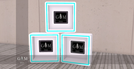 +gemposes+ - Neon event booth - [ADD-HUD] -