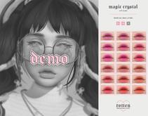 rotten . magical crystal lip gloss . DEMO [ADD]