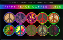 [F] Trippy Peace Coffee Table