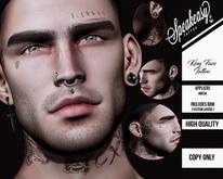 { Speakeasy } King face Tattoo