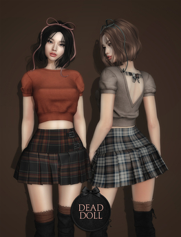 DEAD DOLL - Greer Outfit - Fatpack