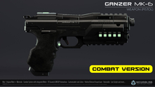 GANZER MK-6 (Weapon Pistol) [Neurolab Inc.]