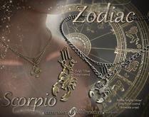 ★*✰ Zodiac Necklace ✰*★ ♏Scorpio ★ Female Edition