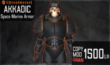 [ Dreadmorne ]  // Akkadic SM Armor