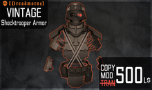 [ Dreadmorne ] // Vintage Shocktrooper Armor