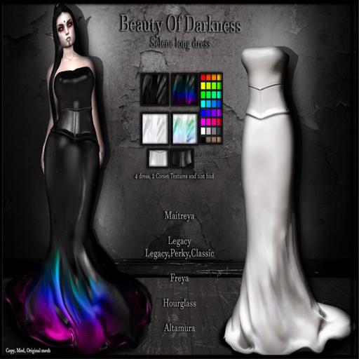 .:BoD:. DEMO Selene long dress