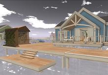 AfterImge Design Back Deck for the Havana OW & Pier Stilt House