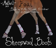 ~Mythril~ Sheepwool Boots: Foal