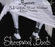 ~Mythril~ Sheepwool Boots: Pegasus