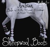 ~Mythril~ Sheepwool Boots: Arabian