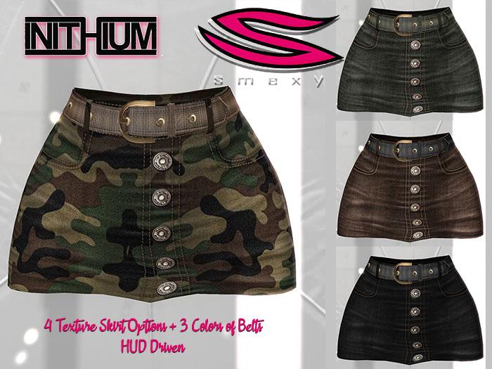 ::Smexy:: Kupra Belted Skirt