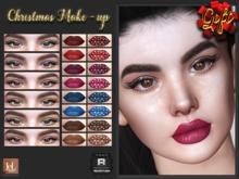 RELENTLESS Christmas Make-up [LELUTKA EVO]