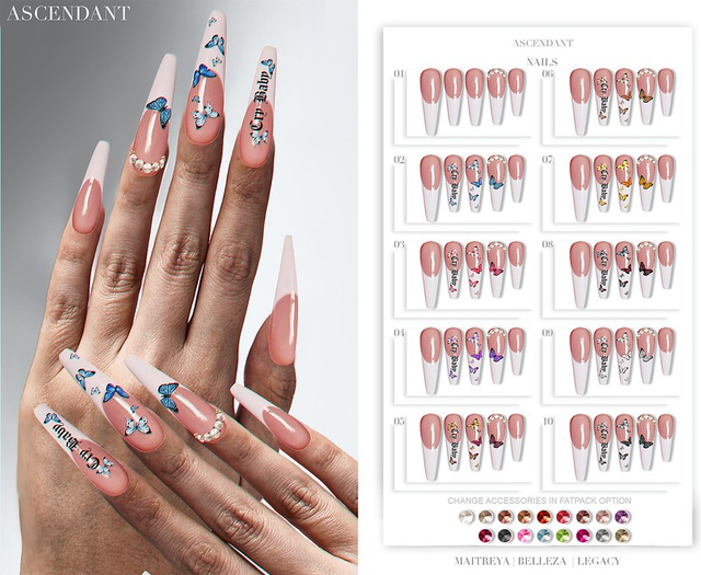 Ascendant - Cry Baby Nails Fatpack
