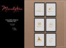 Moonley Inc. - Golden Magic Frame Set