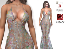 ~PP~ Sequined Jacque Gown - Sheer New Year